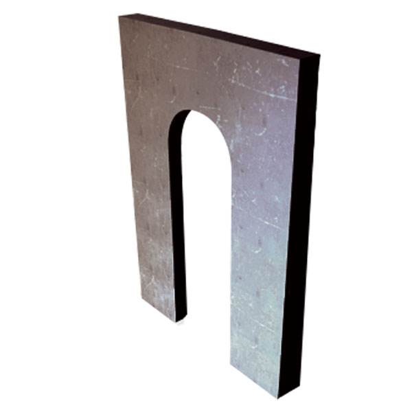 Steel Horseshoe Shim - Click Image to Close